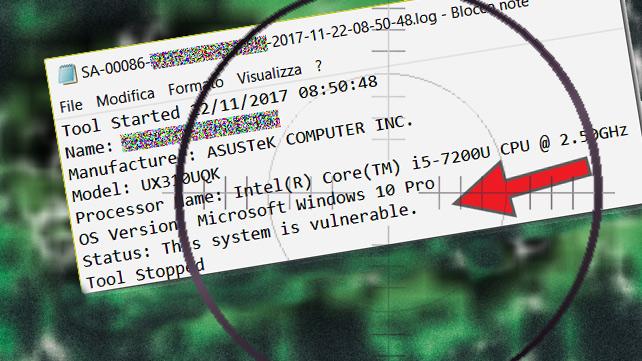 Falle nelle CPU Intel Core Xeon Atom e Celeron