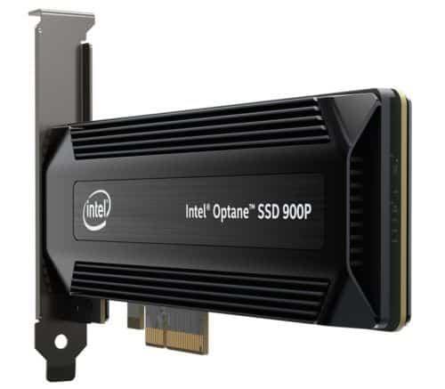 Intel Optane Serie 900P SSD prestazioni senza precedenti