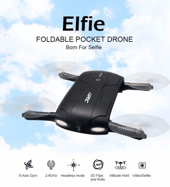 JJRC H37 a 27 euro il drone per selfie aerei