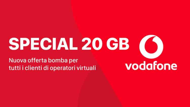 Vodafone Special 20GB 1000 minuti 1000 sms 20 Giga