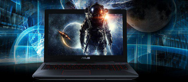 ASUS FX503 notebook gaming con Kaby Lake e GTX 1060