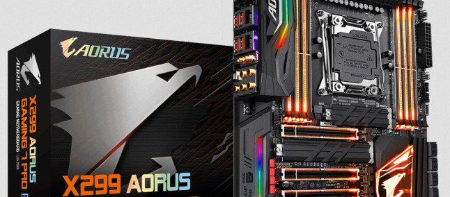 Gigabyte scheda madre X299 AORUS Gaming 7 Pro