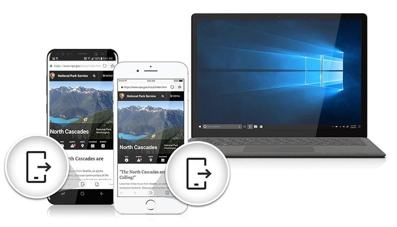 Microsoft Edge iOS si naviga anche da iPhone e iPad