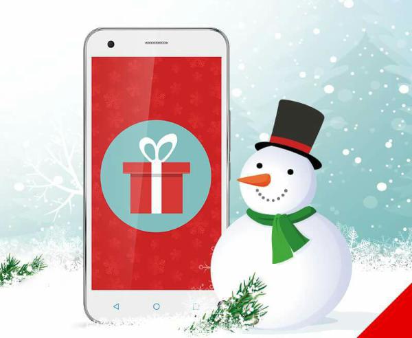 Christmas Card Vodafone a Natale regala Vodafone Pass a scelta