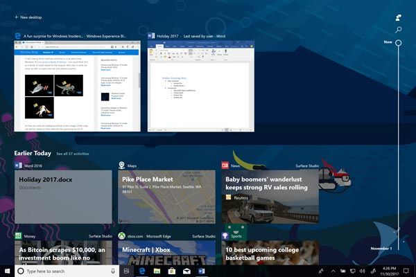 Windows 10 rilasciata build 17063 Redstone 4 con tante novita