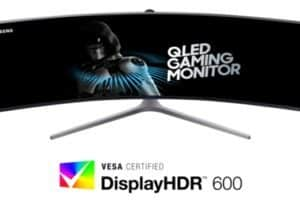Il monitor QLED Samsung CHG90 certificato Display HDR
