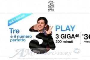 Play Digital 3 euro senza costo di attivazione