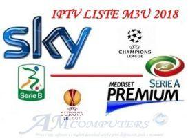 Liste m3u IPTV Gratis sky Mediaset Premium 2018 sempre aggiornate