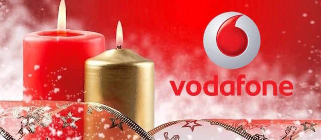 Vodafone presenta i regali e le promozioni di Natale