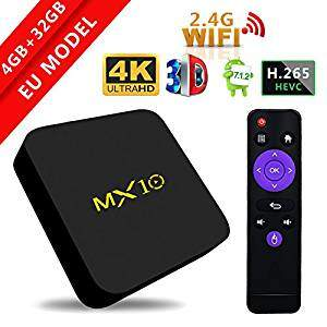 Android smart TV box MX10