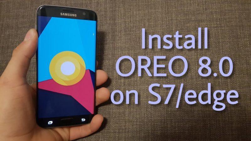 Come installare custom ROM Android 8 su S7 e S7Edge