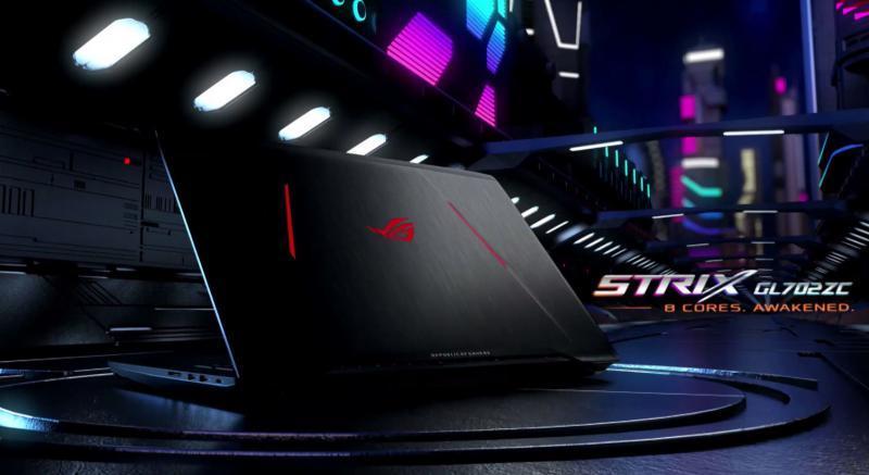 ASUS ROG Strix GL702ZC con processore AMD Ryzen