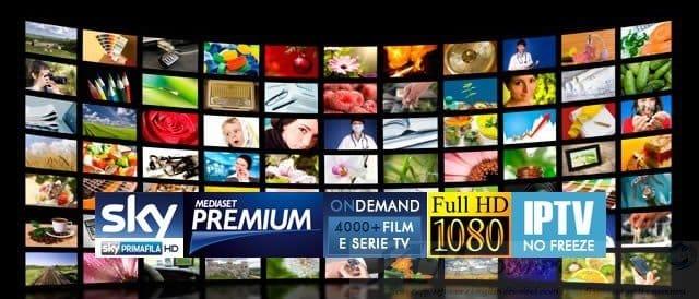 IPTV Free Liste m3u 2018 sempre aggiornate sky mediaset Premium