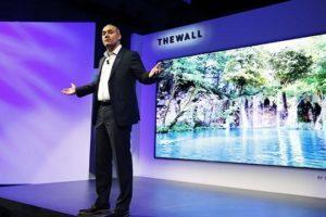 Samsung The Wall la TV modulare da 146 pollici in 8K
