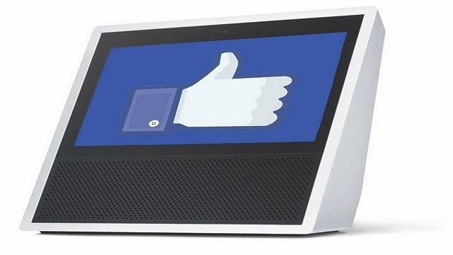 Facebook lancia Portal per competere con Amazon Echo