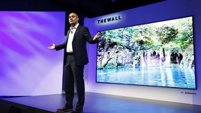 Samsung The Wall la TV modulare da 146 pollici 8K