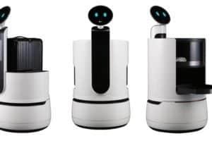 LG presenta i robot CLOi al CES 2018 Las Vegas