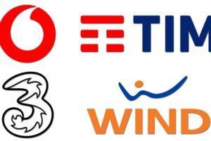 Vodafone Wind e Tre tornano alla tariffazione mensile con aumento