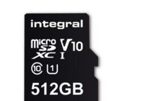 La prima microSD da 512GB arriverà a febbraio