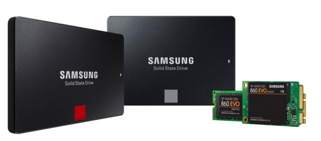 Samsung SSD 860 PRO e 860 EVO ufficiali