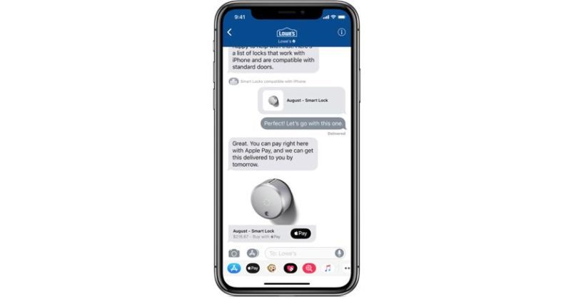 Apple lancia Business Chat la chat che sfida WhatsApp