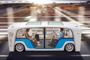 Piattaforma intelligente pensata per i veicoli elettrici a guida autonoma