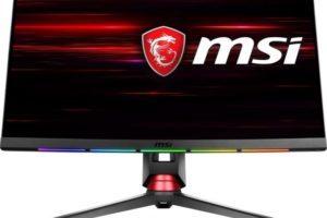 CES 2018 MSI presenta nuovi monitor curvi per il gaming