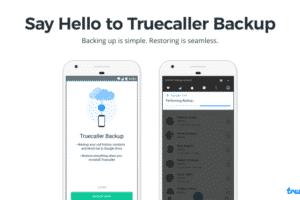 Truecaller Backup la nuova app per salvare contatti