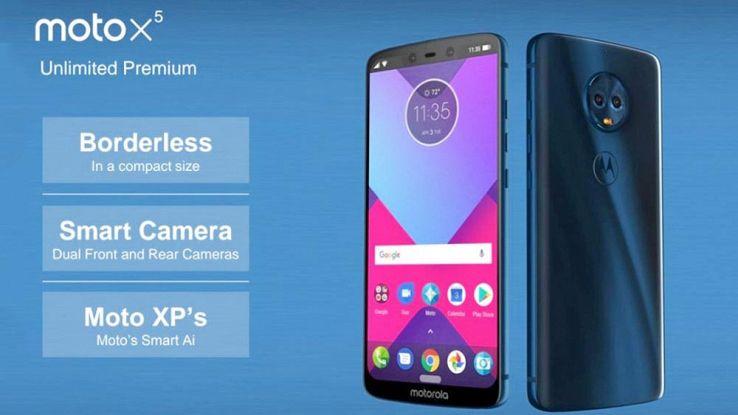 Smartphone Motorola 2018 svelati il G6 X5 e Z3
