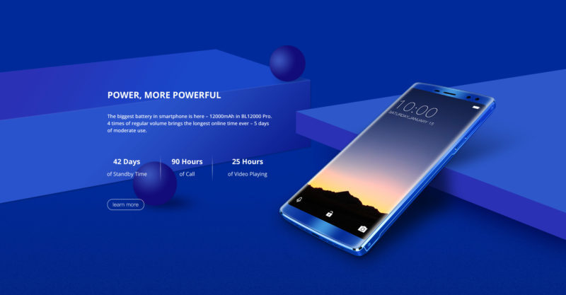 Doogee BL12000 Pro smartphone usato anche come battery bank
