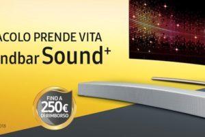Samsung rimborsa 250 euro con acquisto di un QLED TV