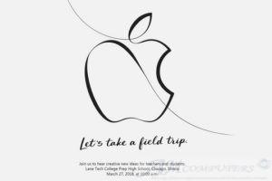 Evento Apple 27 marzo 2018 ecco cosa sarà presentato