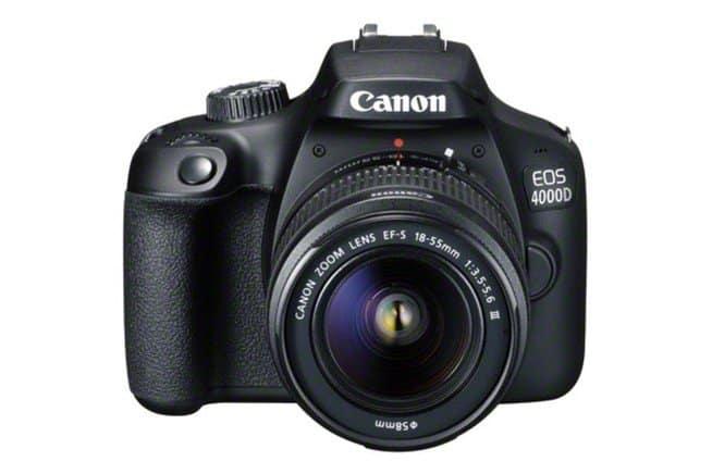 Canon ha presentato Canon EOS 2000D e EOS 4000D reflex