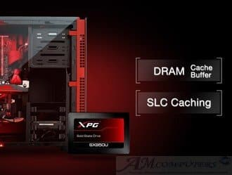 Data XPG SX950U SSD gaming con memorie flash NAND 3D