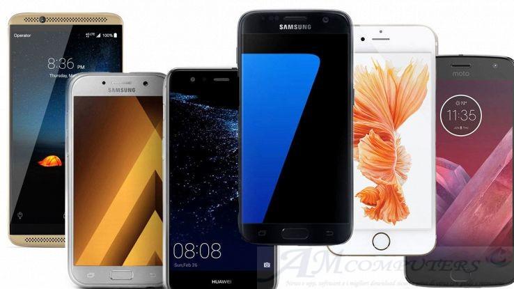 I migliori smartphone di fascia Medio alta di Marzo 2018
