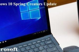 Windows 10 Spring Creators Update nuovo aggiornamento Microsoft