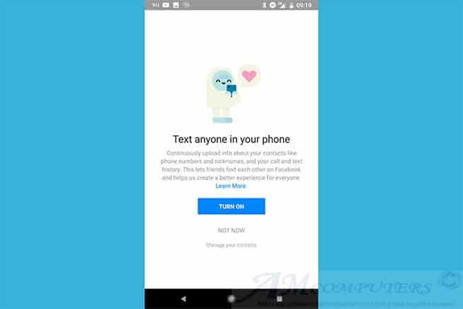 Facebook colleziona i dati delle chiamate e SMS su Android