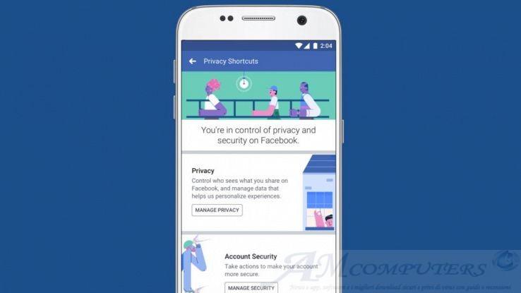 Facebook arrivano nuovi strumenti per controllare la privacy
