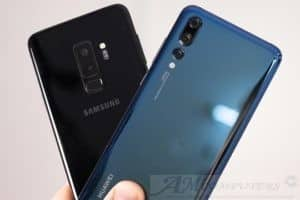 Confronto tra Samsung Galaxy S9 iPhone X Huawei P20 Pro