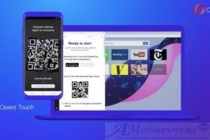 Opera Touch il nuovo browser per dispositivi mobili