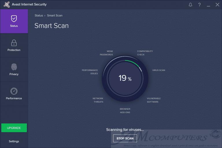 Avast Antivirus Free Pro e Intenet Security