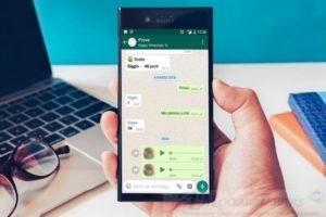 Come registrare audio su WhatsApp senza tenere il tasto premuto