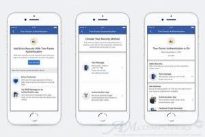 Fecebook cambia autenticazione a due fattori