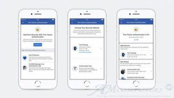 Facebook cambia autenticazione a due fattori