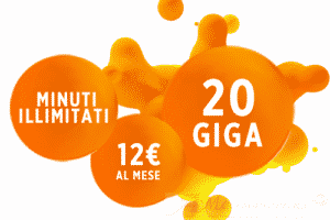 Wind Smart7 Easy Chiamate illimitate e 30 Giga a 7Euro