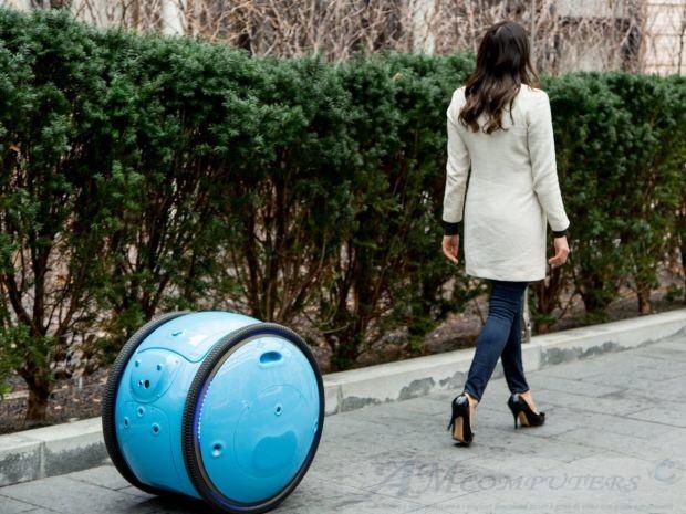 Gita il robot valigia che segue il proprietario