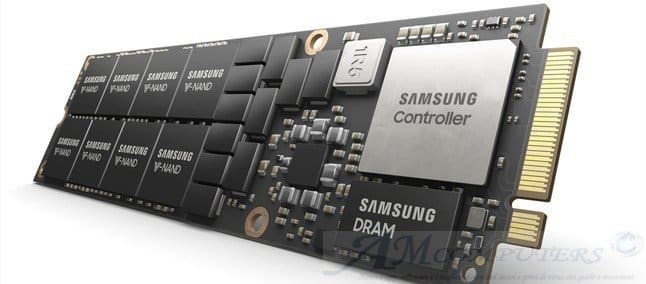 Samsung presenta NF1 SSD NVMe da 8TB form factor NGSFF