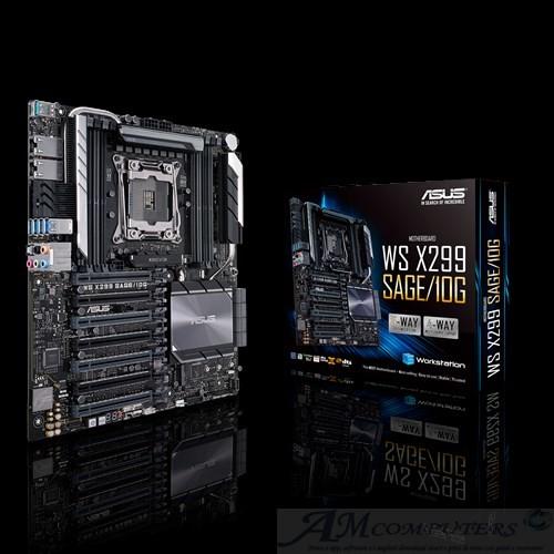 ASUS WS X299 scheda madre del futuro con porte 10Gb