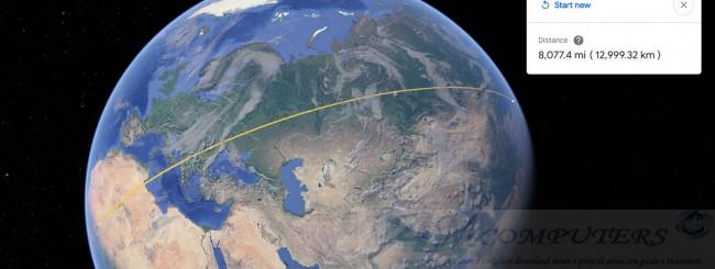 Google Earth arriva un tool per misurare distanze e aree