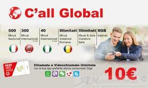 Vodafone dal 24 Giugno offerta attivabile CAll Global